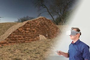 """Presentació de l'experiència en realitat virtual """"Com es construïen els aljubs i les cabanes de pedra seca"""" @ Centre d'Interpretació de la Pedra Seca"""
