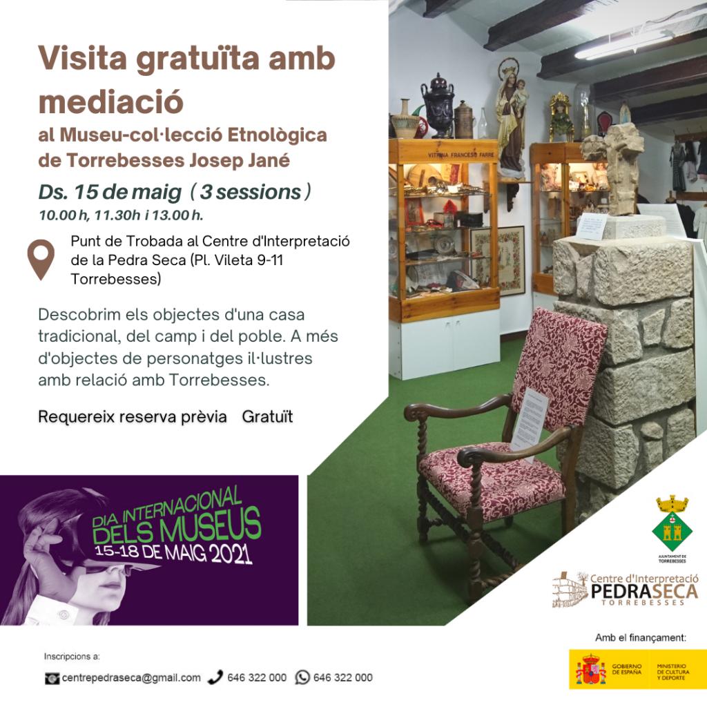 Visites gratuïtes al Museu-Col·lecció etnològica Josep Jané | 3 sessions