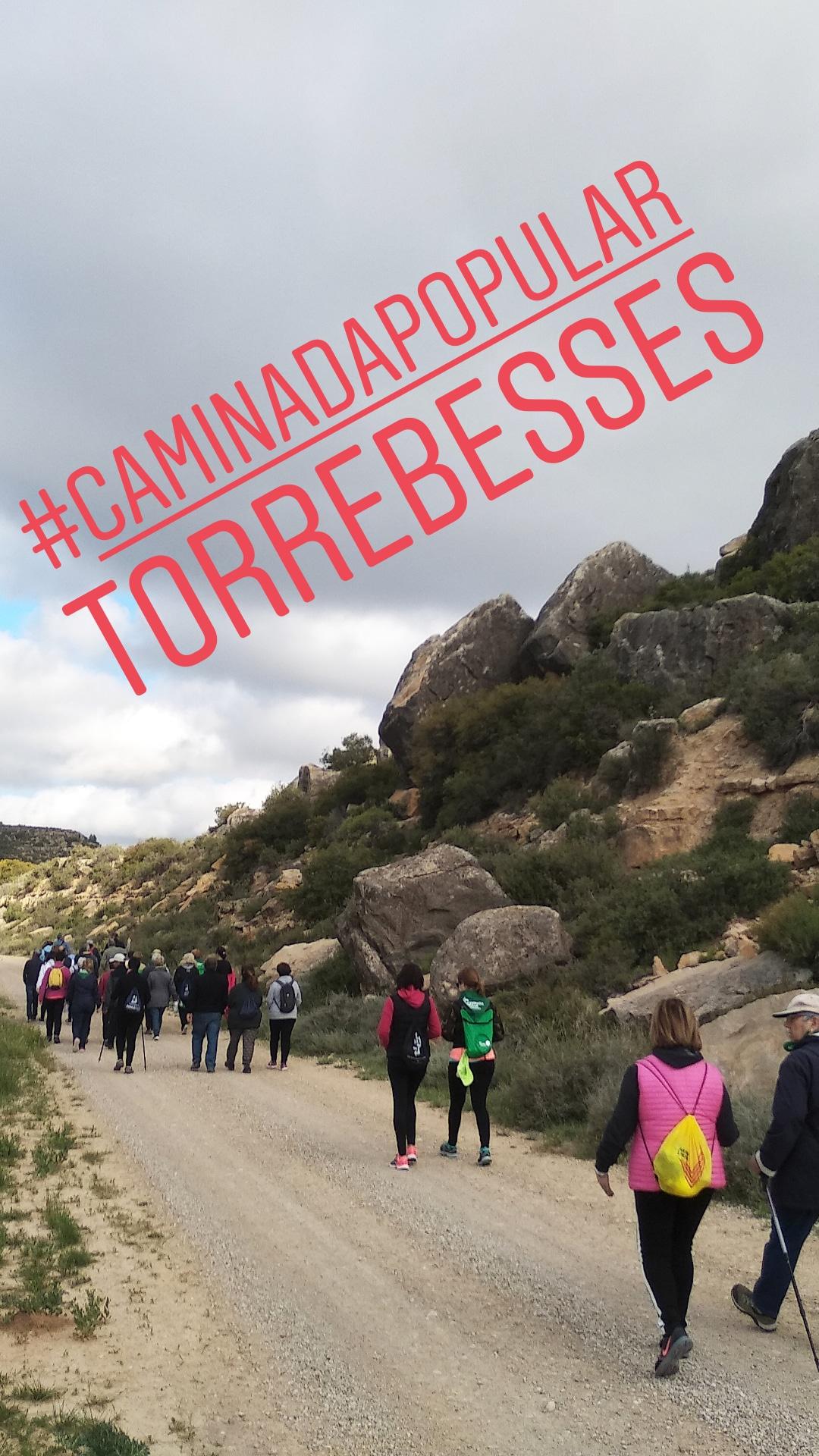 Caminada popular de Torrebesses 2019 @ Centre d'Interpretació de la Pedra Seca