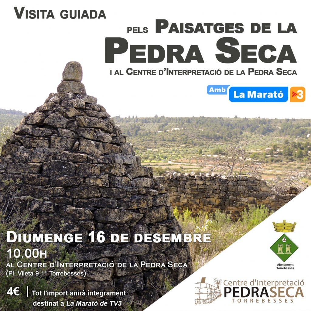 La Marató de TV3: Visita guiada pels paisatges de la pedra seca @ Centre d'Interpretació de la Pedra Seca