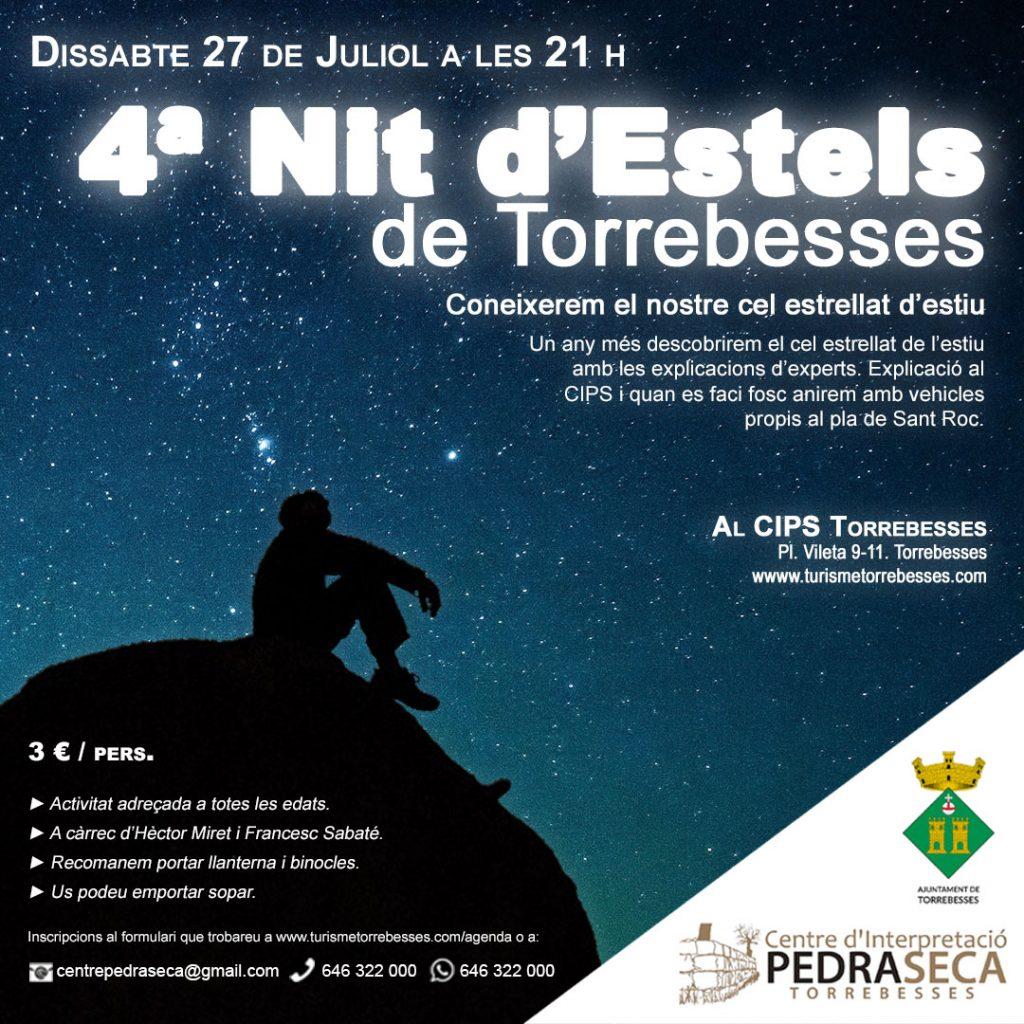 4a Nit d'Estels de Torrebesses @ Centre d'Interpretació de la Pedra Seca de Torrebesses