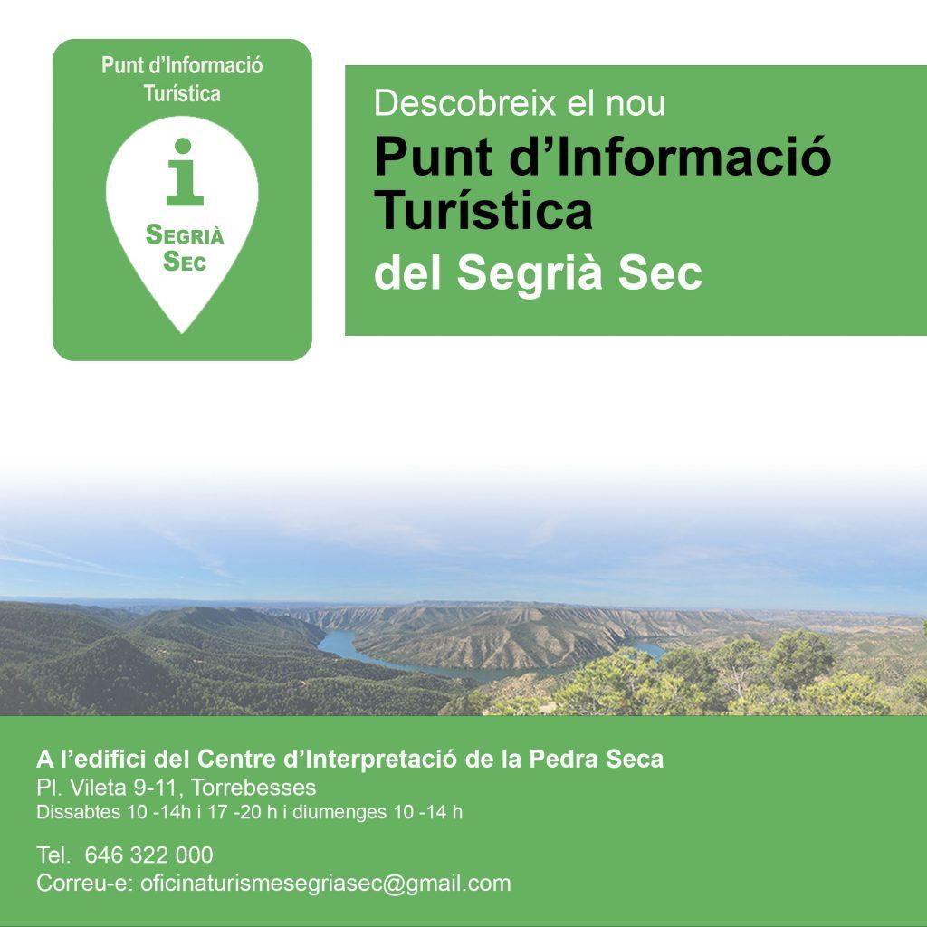 Punt d'informació turística del Segrià Sec