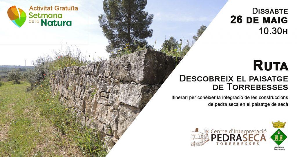 Setmana de la Natura: Descobreix el paisatge de Torrebesses @ Centre d'Interpretació de la Pedra Seca