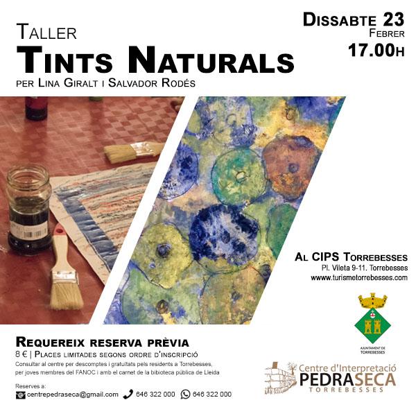 Taller de Tints Naturals @ Centre d'Interpretació de la Pedra Seca