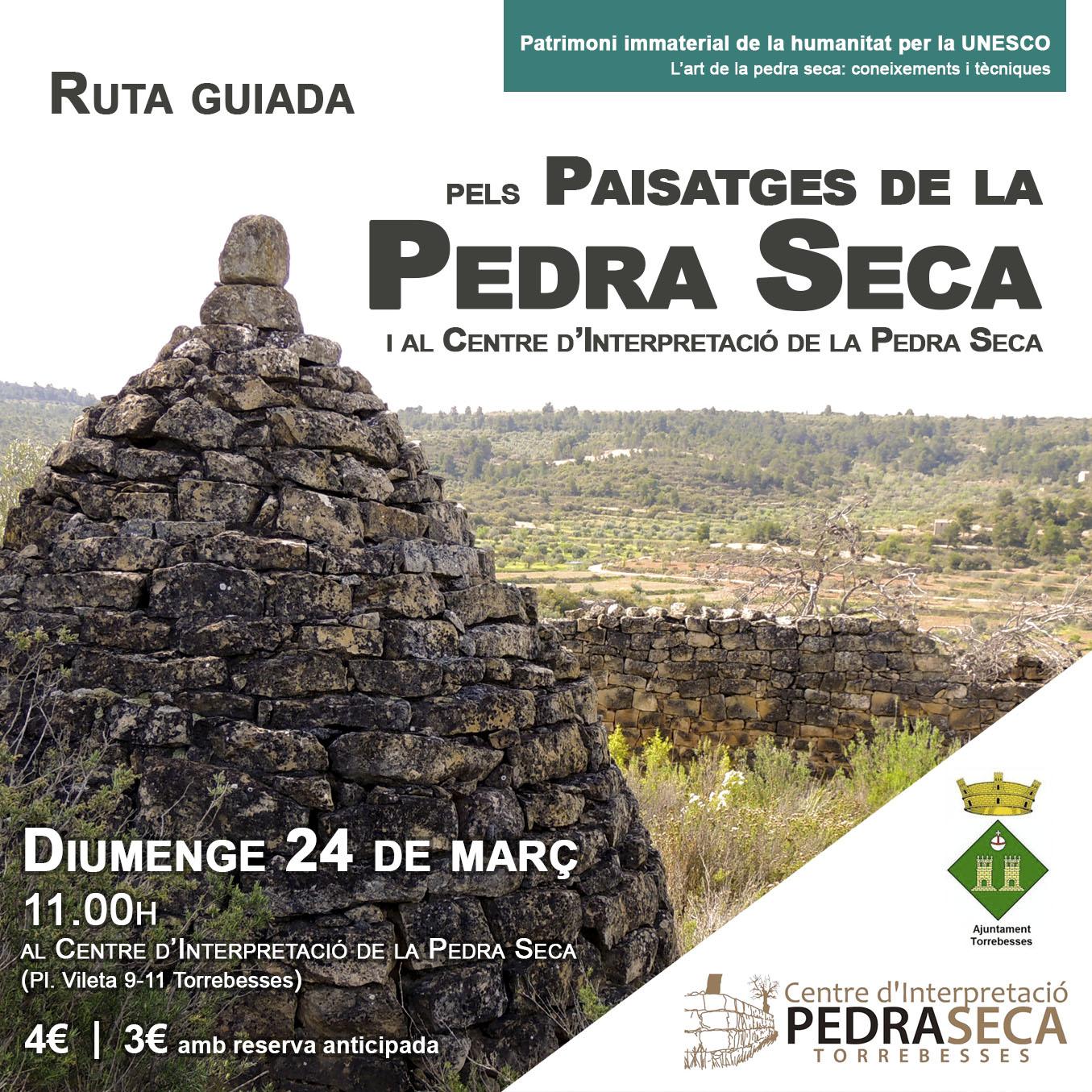 Visita guiada pels paisatges de la pedra seca amb descompte @ Centre d'Interpretació de la Pedra Seca