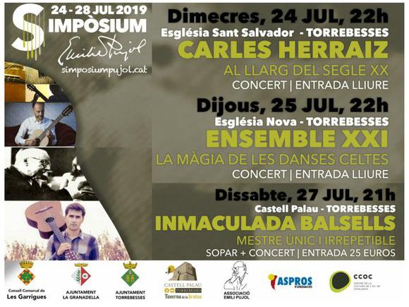 Simpòsium Emili Pujol 2019 @ Torrebesses