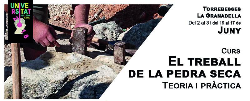"""Curs """"El Treball de la Pedra Seca: Teoria i Pràctica"""""""