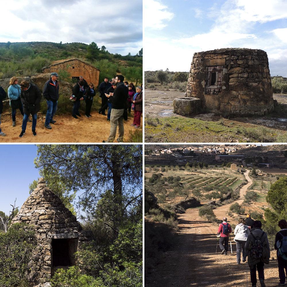 Ruta guiada pels paisatges de la pedra seca - Natura i paisatge @ Centre d'Interpretació de la Pedra Seca